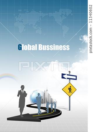 商業全球化 11340602