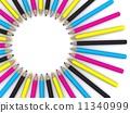 pencils, instrument, education 11340999