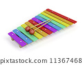 Colorful xylophone 11367468