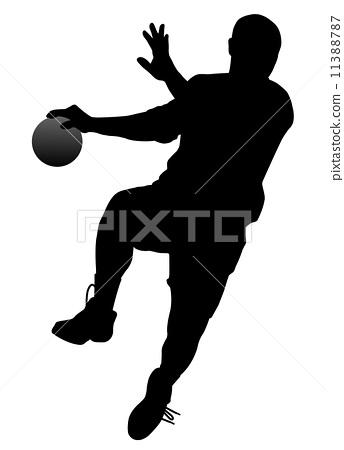 Handball player 11388787
