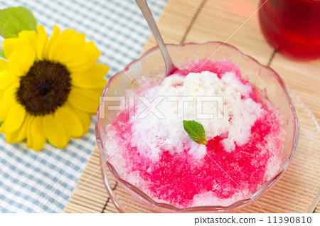 Summer cuisine image ~ oyster ice ~ 11390810