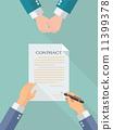 签约 商业 商务 11399378