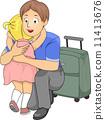 departure, goodbye, hug 11413676