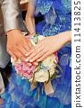 웨딩 (결혼 반지) 11413825