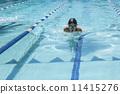 游泳 运动 蛙泳 11415276