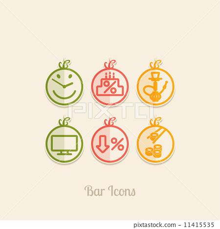 Bar Icons 11415535