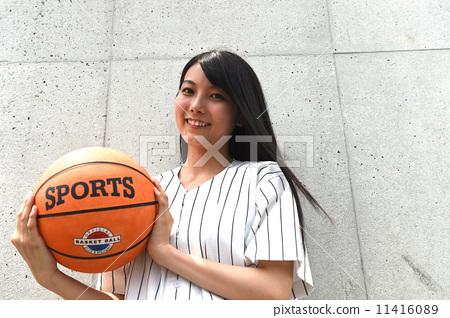 농구와 여자 11416089
