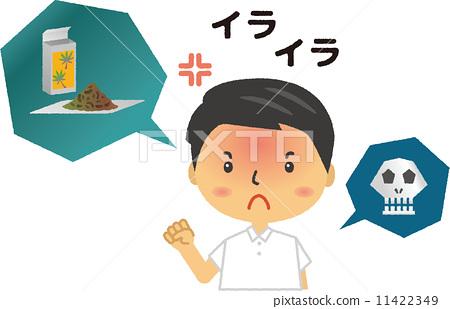 Drug addiction hallucination symptom male excitement 11422349