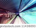 High speed train speed motion 11436093