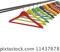 hanger isolated background 11437678