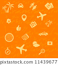 vector travel background 11439677