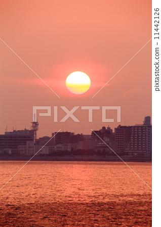 Setting sun 11442126