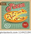 pizza, flyer, decorative 11442194