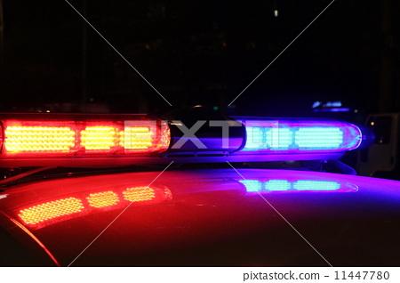 Police lights 11447780