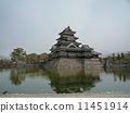 matsumoto castle, natural scenery, landmark 11451914