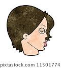 character, eyebrow, raising 11501774