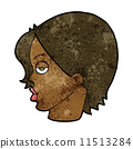 character, eyebrow, raising 11513284