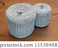 Set of seagrass basket 11536408