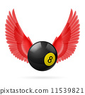 wings, red, ball 11539821
