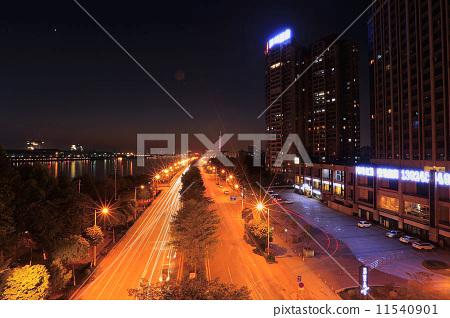 City night scene 11540901
