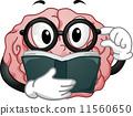 마스코트, 뇌, 독서 11560650