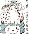 doodle birthday cartoon 11560759