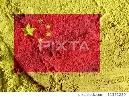 China Flag 11571229