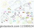 diving animal girl 11580024