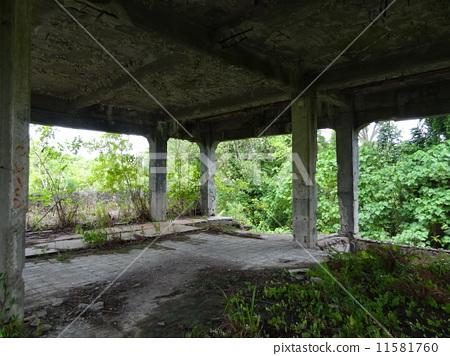 팔라우 페리 류섬 일본군 총사령부 흔적 11581760