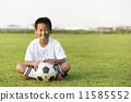 ฟุตบอล,ยิ้ม,รอยยิ้ม 11585552