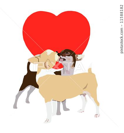 Kissing chihuahua 11588182