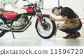 保養 年長 腳踏車 11594729