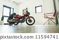 車庫 腳踏車 自行車 11594741