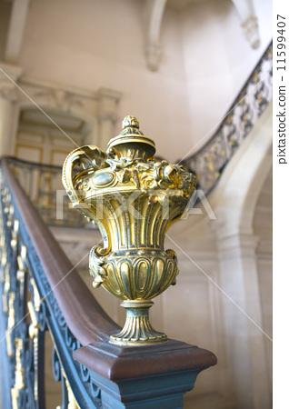 프랑스 베르사유 궁전 계단 장식 -857 [Château de Versailles] 11599407