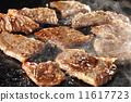 韓國燒烤 日本菜烤肉 煙 11617723