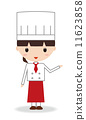 chef, chefs, woman 11623858