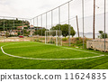 Goal at a small local football field in a Greek village 11624835