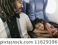young, hugging, girl 11629396