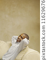 sofa, man, african 11629676