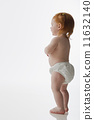 Studio shot of baby standing 11632140
