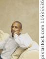 african, american, sitting 11635536