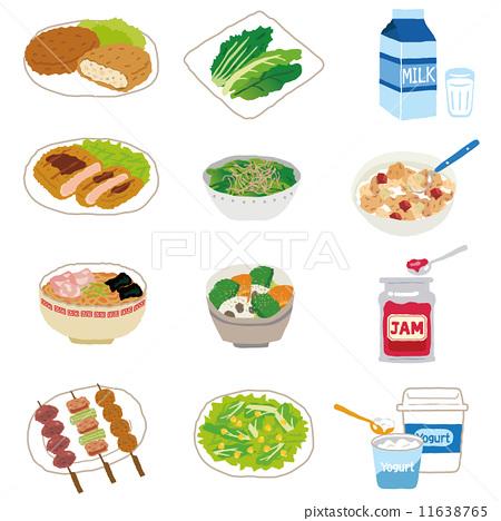 矢量 食物 食品 11638765