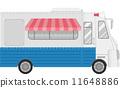 vector truck cartoon 11648886
