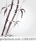 竹子 竹 矢量 11661654