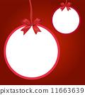 聖誕節 聖誕 球 11663639
