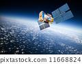卫星 空间 地球 11668824