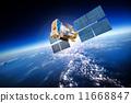 卫星 空间 地球 11668847