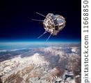 卫星 空间 地球 11668850