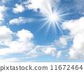 藍天和太陽 11672464