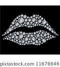 carat brilliant abstract 11676646
